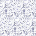 Blog Object Seamless Pattern