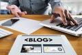 BLOG Website Online Internet Web Page Social Media Connection N