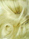 Blond highlight hair texture background abstract Royalty Free Stock Images