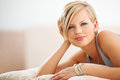Blonde bombshell Stock Photography