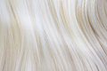 Blonde hair healthy close up image Stock Photos
