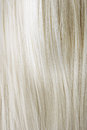 Blonde hair healthy close up image Royalty Free Stock Photo