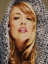 Blonde model Stock Photography