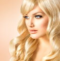 Blonde Woman Portrait Royalty Free Stock Images