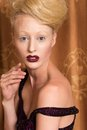 Blondin Arkivfoto