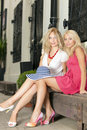 Blonds fashion Royalty Free Stock Images