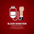 Blood Donation. Royalty Free Stock Image