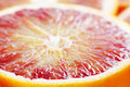 Blood orange close up Stock Images