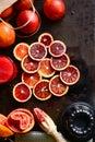 Blood Orange Slices Royalty Free Stock Photo