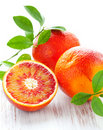Blood oranges Stock Image