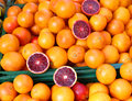 Blood Oranges at the Farmers Market Royalty Free Stock Photo