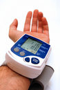 Blood pressure examination Royalty Free Stock Image