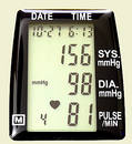 Blood Pressure Momitor Stock Photo