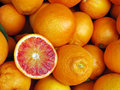 Blood red orange Royalty Free Stock Photos