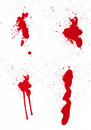 Blood Spatter III Royalty Free Stock Image