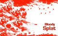 Blood splat Stock Images