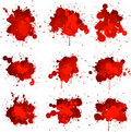 Blood splats Royalty Free Stock Photo