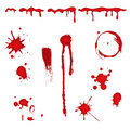 Blood splatter -  Royalty Free Stock Photography