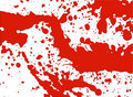 Blood splatter pattern Stock Photography
