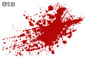 Blood Splatter, Vector Illustr...