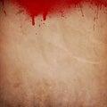 Blood splattered grunge background Royalty Free Stock Photo