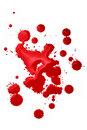 Blood splatters Royalty Free Stock Images