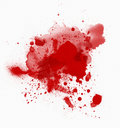 Blood spots Royalty Free Stock Photo