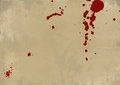 Bloody grunge wall abstract background Stock Photo