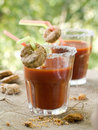 Bloody Mary or tomato juice Stock Image