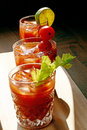 Bloody Mary Trio Royalty Free Stock Images