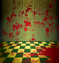 Bloody room Stock Images