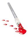 Bloody scalpel Stock Photos