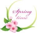 Blossom in the springtime