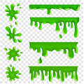 Blots, splashes and smudges Royalty Free Stock Photo