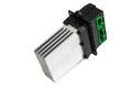 Blower motor resistor on white background Stock Photography