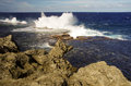 The Blowholes, Tonga Royalty Free Stock Image