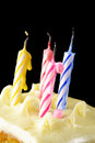 Blown candles out of birthday Royalty Free Stock Photos