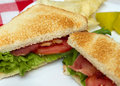 Blt closeup Stock Photo