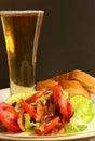 BLT Salad Royalty Free Stock Photo