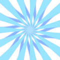 Blue 3D Starburst Royalty Free Stock Photo