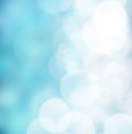 Blue abstract background bright colorful sun and sea bokeh Stock Photos