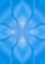 Blue abstract background a design Royalty Free Stock Image