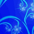 Blue Abstract Background design template Stock Photography