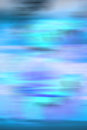 Blue abstract background image of an made up of cyan black and purple with linear motion blur Stock Image