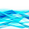 Blue abstract background with moving lines Royalty Free Stock Photo