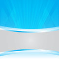 Blue abstract background vector for copy space