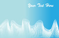 Blue abstract background a white wavy on Royalty Free Stock Photos