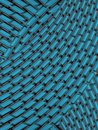 Blue abstract diagonal design Stock Photos
