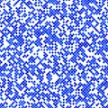 Blue abstract diagonal square pattern background design - vector graphic Royalty Free Stock Photo
