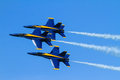 Blue Angels at the Chicago Air Show Royalty Free Stock Photo